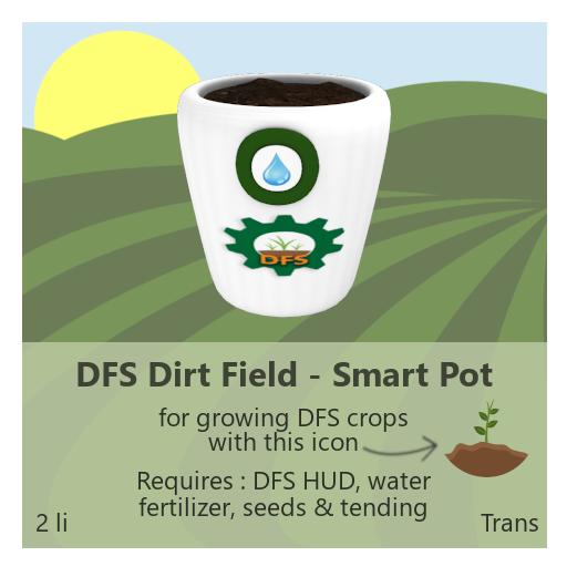 DFS Dirt Field - Smart Pot