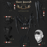 Violent Seduction - Atracid Gloves - Maitreya (Black)