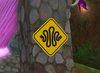 Squiggle Road Sign (Square Version)