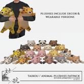 taikou / animal plushies fatpack