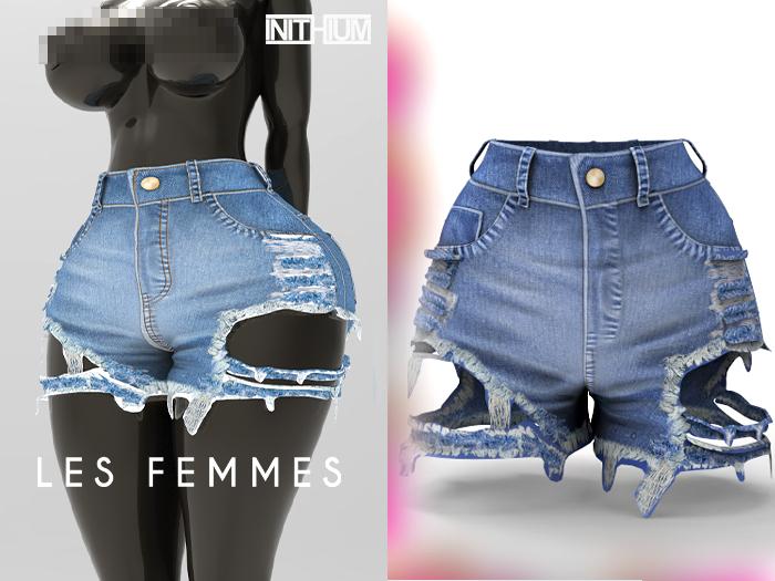 LF. 'Revelation' Short Jeans [medium] [INITHIUM Kupra] [ADD ME]