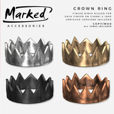 MARKED - Crown Ring