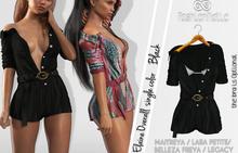 ELAINE FEMALE  BLACK OVERALL - MESH - MAITREYA - LARA PETITE - BELLEZA FREYA - LEGACY - FashionNatic