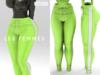LF. 'She's Comfy' Pants  [lime] [INITHIUM Kupra] [ADD ME]