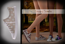 (*<*) 1313 Canvas Sneakers - Hey, Boo!