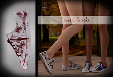 (*<*) 1313 Canvas Sneakers - Blood Spatter