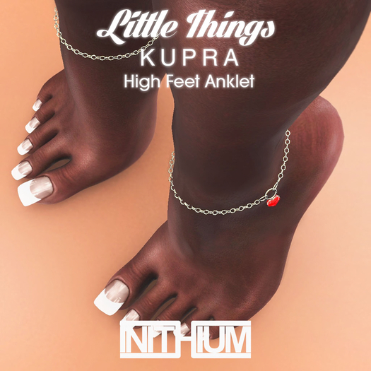 [ INITHIUM ] LITTLE THINGS_KUPRA_ANKLET [DEMO]