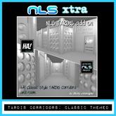 TARDIS Corridors - Classic themed