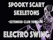Moonix song player cube:Spooky Scary Skeletons/club remix