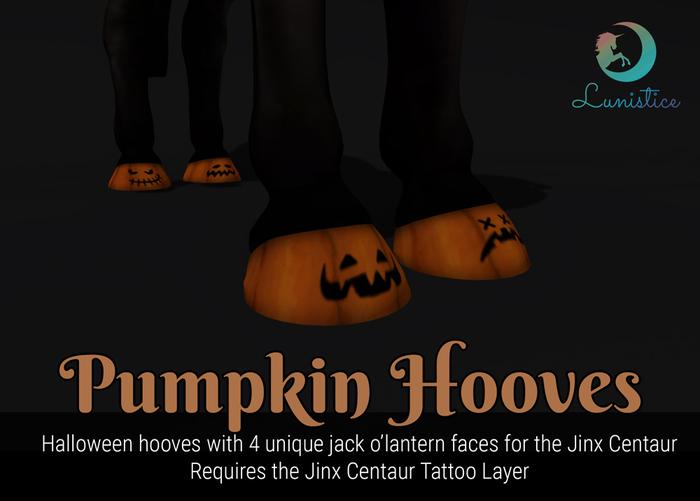 Lunistice: Pumpkin Hooves - Jinx Centaur Tattoo