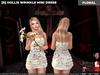 [S] Hollis Wrinkle Mini Dress Floral