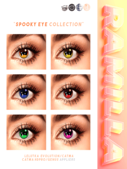 RAMILLA. - Spooky Eye Collection (Lelutka Evolution)