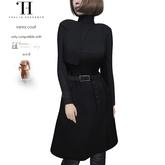 Thalia Heckroth - Rania coat BLACK