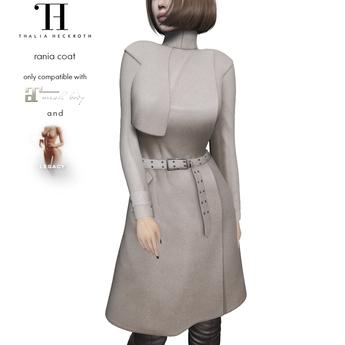 Thalia Heckroth - Rania coat BEIGE