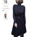 Thalia Heckroth - Rania coat NAVY