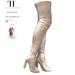 Thalia Heckroth - Asala Thigh High Boots BEIGE