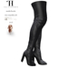 Thalia Heckroth - Asala Thigh High Boots BLACK
