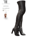Thalia Heckroth - Asala Thigh High Boots BROWN