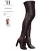 Thalia Heckroth - Asala Thigh High Boots BURGUNDY