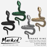 MARKED - Snake Ring