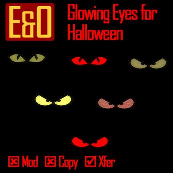 E&O - Glowing Eyes for Halloween