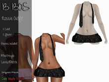 B BOS - Rossie Outfit - Flower Black (Add me)