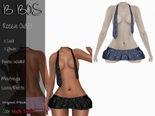 B BOS - Rossie Outfit - Flower Blue (Add me)