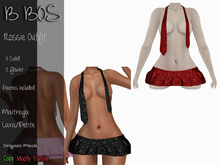 B BOS - Rossie Outfit - Flower Red (Add me)