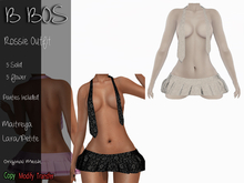 B BOS - Rossie Outfit - Flower White (Add me)
