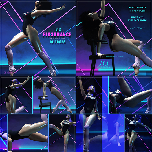 :studiOneiro: Flashdance V2 Bento set /poses/