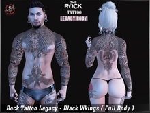Rock Tattoo Legacy - Black Vikings ( Full Body )