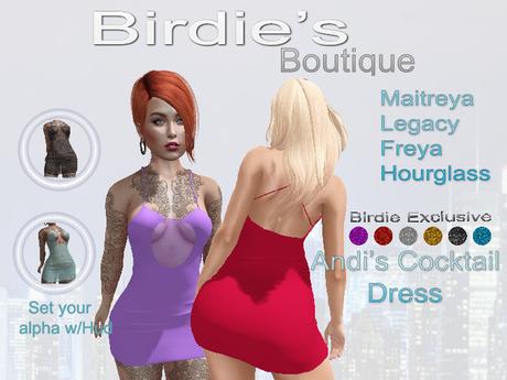 Birdie's Boutique - Andi's Cocktail Dress Birdie's Pack