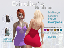 Birdie's Boutique - Andi's Cocktail Dress Birdie's Pack