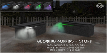 Sequel - Glowing Coffins - Stone - Halloween Decoration