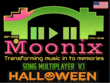 Moonix song multiplayer cube:Halloween version 1