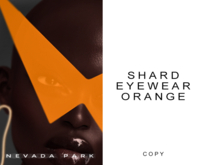 NEVADA PARK + Shard Eyewear | Orange