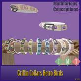 [MC]  BRDMRT Griffin Retro OWLS Flat Collar[wear to unpack]