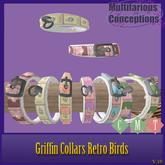 [MC]  BRDMRT Griffin Retro Birds Flat Collar[wear to unpack]