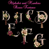# Rose Numbers & Alphabet
