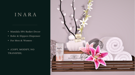 [ID] Mandala SPA - Robes & Slippers Giver (For Women)