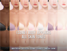{S0NG} Skin Mesh Body Appliers (Fatpack)