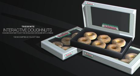 Tredente // Bento Interactive Doughnuts