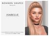 Bonbon Shapes - Isabelle Shape (for Genus Classic Face)