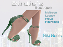 Birdie's Boutique - Niki Shoes Green