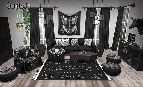 Oubliette- Nu Goth Living Room FULL SET W/RARE