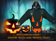 IMPACTS-Halloween HOODIE 1SIG/BELLEZA/SLINK/AESTHETIC/LEGACY