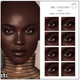 poema - Ms. Collins Eyes (wear to unpack)