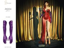 S&P Jessica gloves purple (wear to unpack)