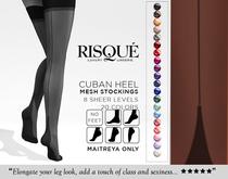 erratic / ciri - cuban heel stockings / FATPACK (maitreya)