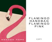NEVADA PARK + Flamingo Handbag | Flamingo Pink